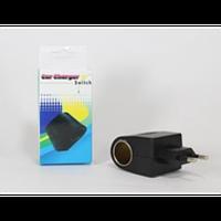 Адаптер Car charge switch, автомобильный адаптер, адаптер для автомобиля, адаптер для прикуривателя