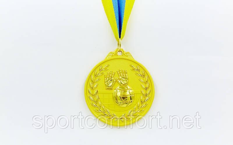 Медаль на ленте Бокс 6,5 см, 40 г, двухцветная (1, 2, 3 место)