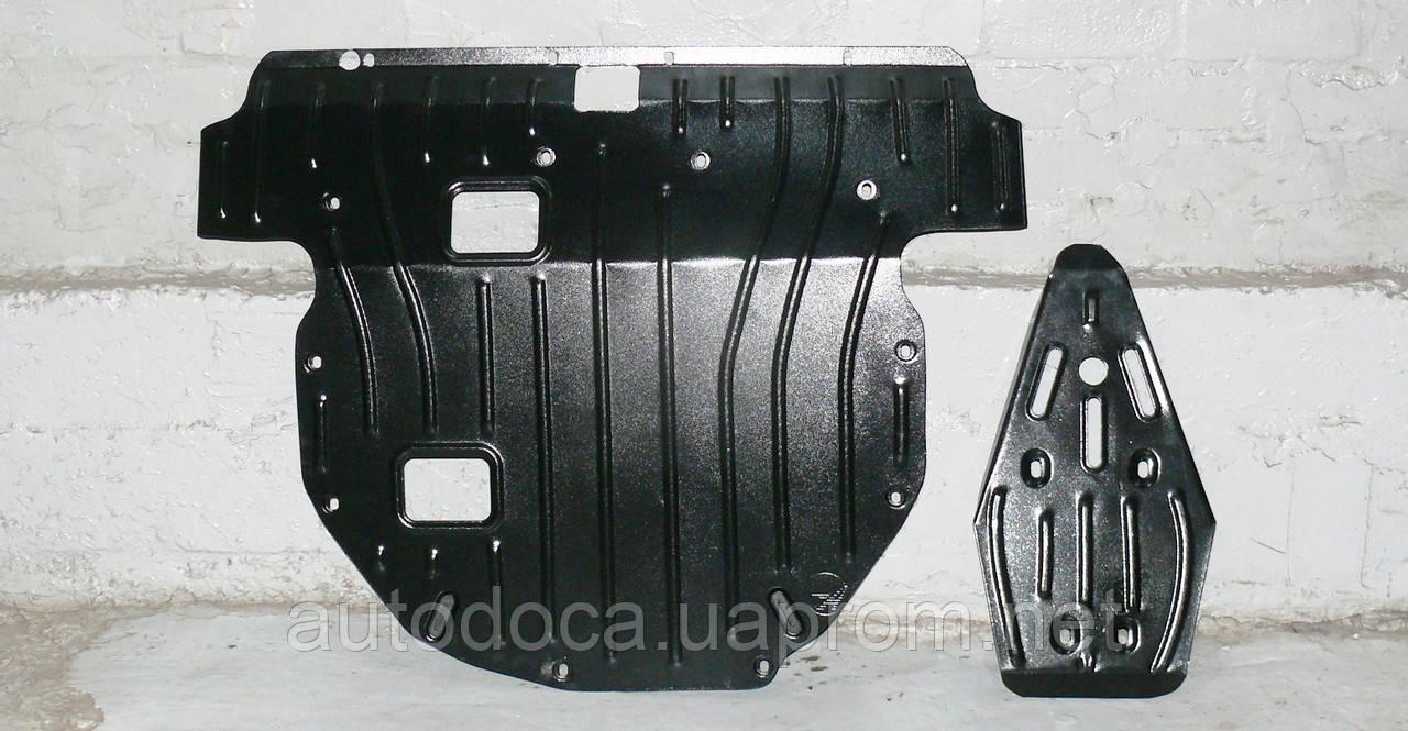 Защита картера двигателя и кпп Kia Sorento  2009-