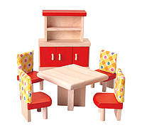 Мебель для кукольного домика Plan Тoys - Столовая Нео