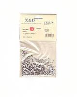 Смола CRYSTAL LIZED X&D серебро №4, 1 упак. - 1440 шт.