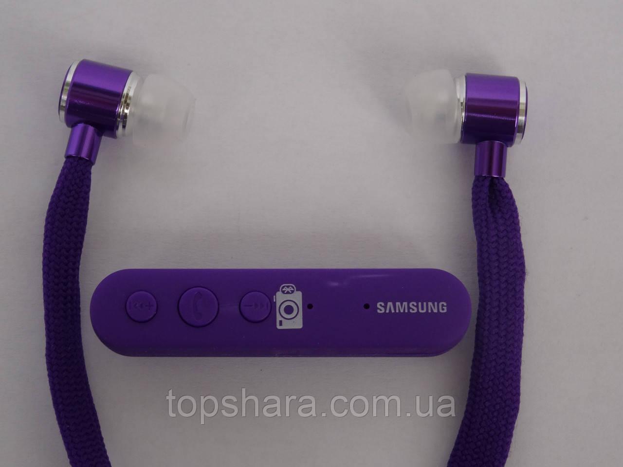 Гарнитура наушники SAMSUNG HS-350 BT Bluetooth Фиолетовые