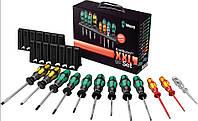 Wera  набор универсальный отверток Kraftform XXL 2, 12 штук 05051011001. Германия