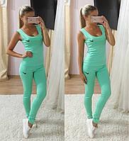 Костюм Nike (майка и лосины) , цвета