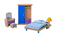 Мебель для кукольного домика Plan Тoys - Спальня Нео
