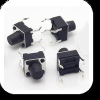 Кнопки тактовые DIP 4-х контактные