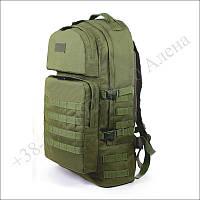 Тактический рюкзак 60 литров олива для военных, туристов, рыбалки нейлон