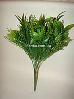 Искусственный куст мяты зеленый