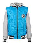 Детская демисезонная куртка-трансформер для мальчиков