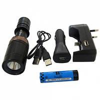 фонарь аккумуляторный подводный POLICE BL-8771 Q5 50000W