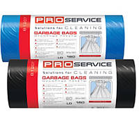 Мешки для мусора LD 160 л., 20шт/уп. Сверхпрочные (синие,черные) - ТМ PRO Service