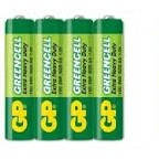 Батарейкa GP Grensell ААА LR3  солевые