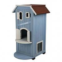 "Trixie TX-44091 дом для кота ""Cat's Home""  из дерева, фото 1"