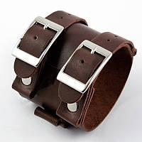 """Шкіряний браслет """"Johnny Depp"""" кожаный браслет на пряжке, під замовлення, різних кольорів, фото 1"""