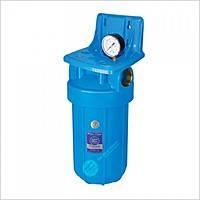 Магистральный корпус-фильтр (колба) Aquafilter 10 BB (с манометром)