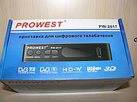 Цифровой эфирный Т2 ресивер PROWEST PW-2017 (тюнер Т2)