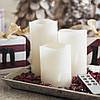 Светодиодные свечи с дистанционным управлением белые, набор