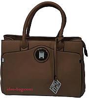 Стильная бежевая сумка SilviaRosa