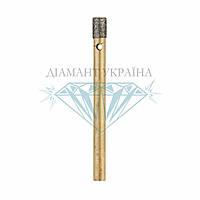 Сверло алмазное по керамограниту Діамант Україна D4 мм