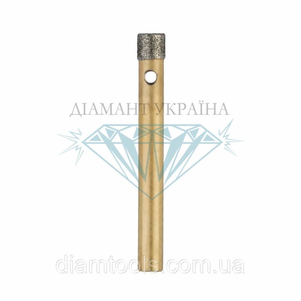 Сверло алмазное по керамограниту Діамант Україна D5 мм