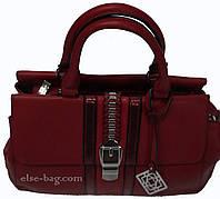 Стильная каркасная сумка SilviaRosa со змейкой