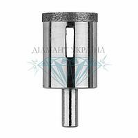 Сверло алмазное по керамограниту Діамант Україна D37 мм