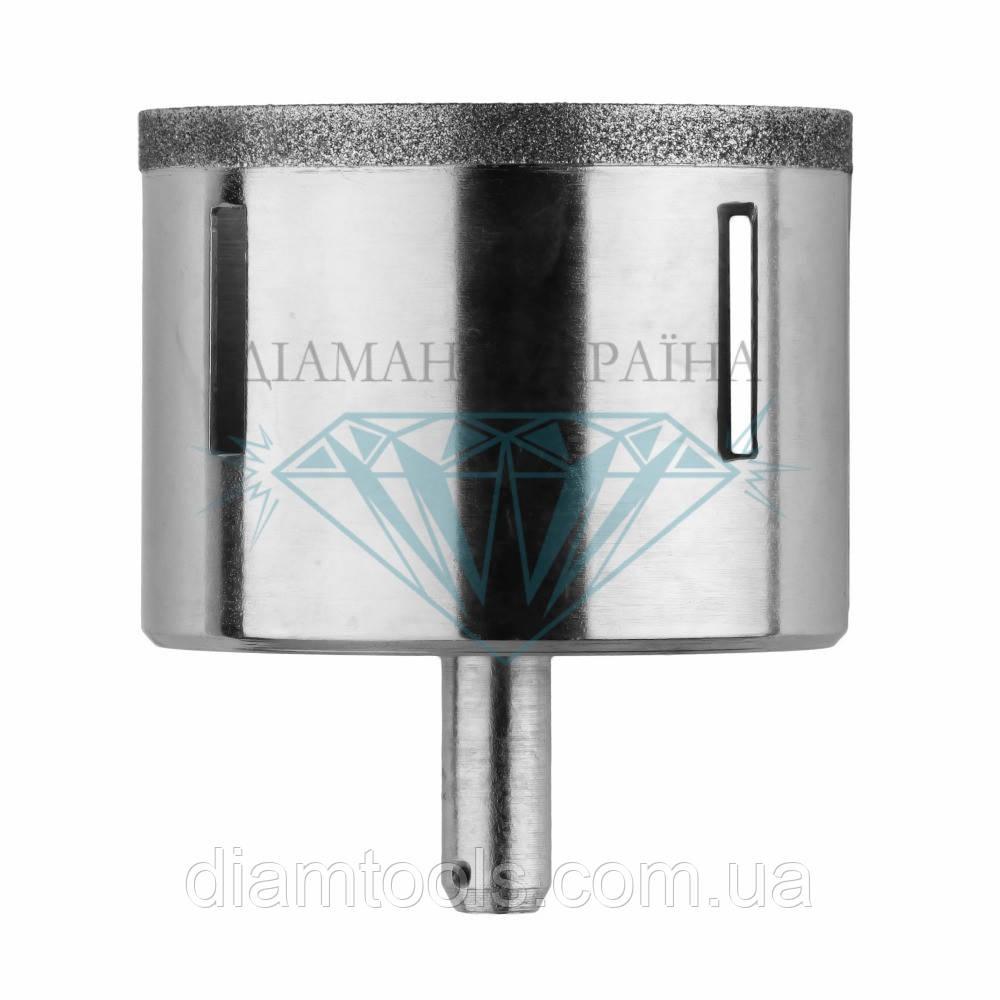 Сверло алмазное по керамограниту Діамант Україна D49 мм