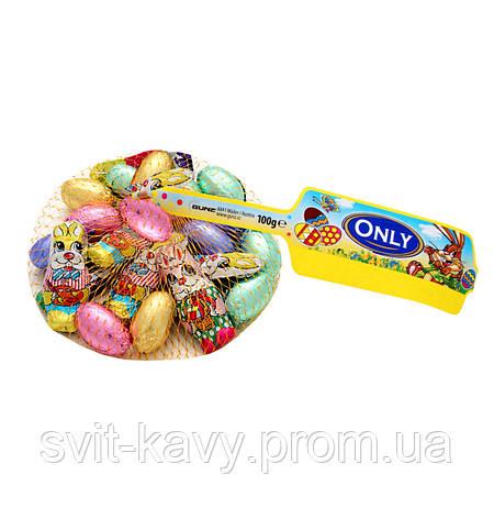 """Молочний шоколад  з горіховим кремом 100 г """"ONLY"""" 744, фото 2"""