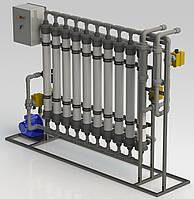 Ультрофильтрационная система очистки воды