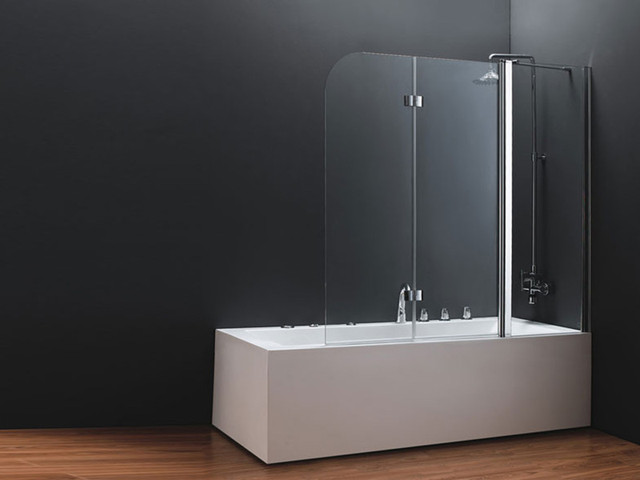 Шторка стеклянная в ванную: как выбрать?