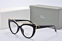 Оправа Dior черная с золотом, фото 1