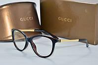 Оправа Gucci коричневая, фото 1
