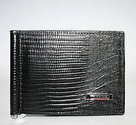 0902 KR Кошелёк мужской кожаный - зажим для денег Karya
