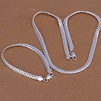 Набор браслет и цепочка для мужчин 925