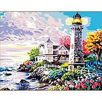 Картина по номерам 40*50 см Свет маяка 192