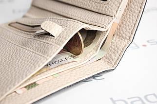 Кошелёк мужской Pulabo Jeans, коричневый, фото 3