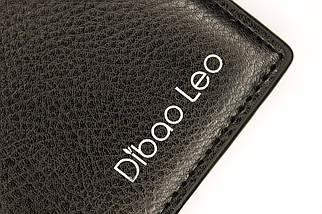 Кошелёк мужской Dibao Leo L9, дизайн 3, чёрный, фото 3