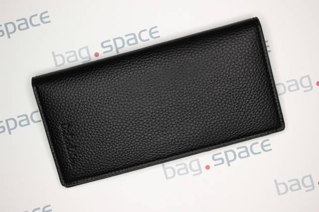Кошелёк мужской Dibao Leo L9, дизайн 1, чёрный, фото 2