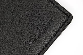 Кошелёк мужской Dibao Leo L9, дизайн 1, чёрный, фото 3