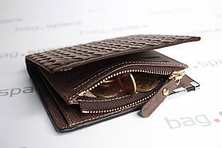 Кошелёк мужской Baellerry Style, ярко-коричневый, фото 3
