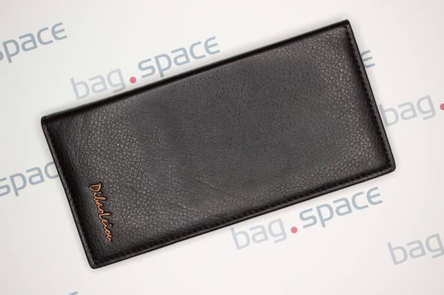 Кошелёк мужской Dibao Leo L9, дизайн 2, тёмно-коричневый, фото 2