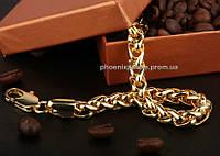 Массивный браслет, покрытый золотом (70205)