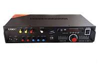 Усилитель звука UKC KA-102F 2*150 maxx + караоке