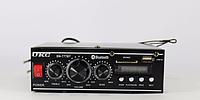 Усилитель мощности звука AV-777BT bluetooth/микшер/караоке, портативный усилитель звука