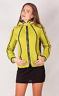 Женская куртка К-031 Желтый