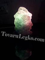 Соляная лампа - Скала (1,5 кг)