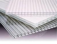 Полікарбонат сотовий (стільниковий) Carboglass прозорий 6000х2100х20 мм / Поликарбонат сотовый Карбогласс.