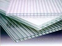 Полікарбонат сотовий (стільниковий) SOTON прозорий 6000х2100х6 мм / Поликарбонат сотовый СОТОН прозрачный.