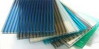 Полікарбонат сотовий (стільниковий) SOTON кольоровий 6000х2100х4 мм / Поликарбонат сотовый СОТОН цветной.