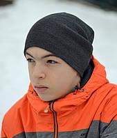 Мужская и детская шапка Арктик Шапка-чулок, двойная. р.54-60. Унисекс. Т.синие, желт, лён, красн, темно-серые, черные